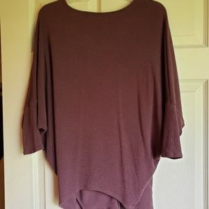 Dolman Purple Top